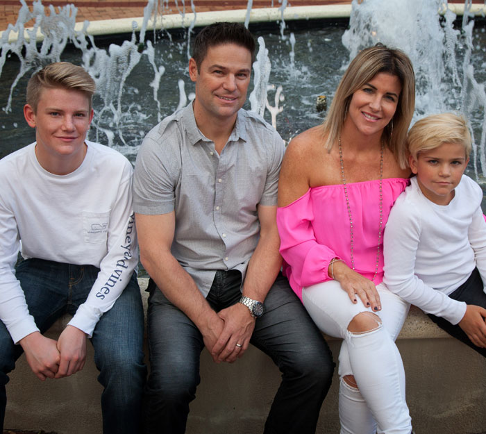 Chiropractor Jupiter FL Denise and Christian Carlstrom and family